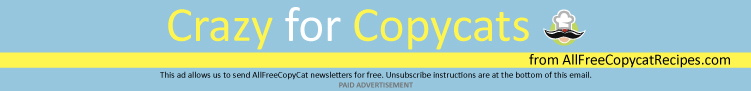 Crazy for Copycats from AllFreeCopycatRecipes.com Special Offers